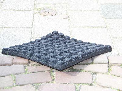 Drainage Tegels 50x50 : Rubber tegel shop goedkope rubberen tegels